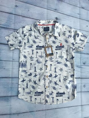 Joules BRAND NEW WITH TAG short sleeve shirt age 7-8